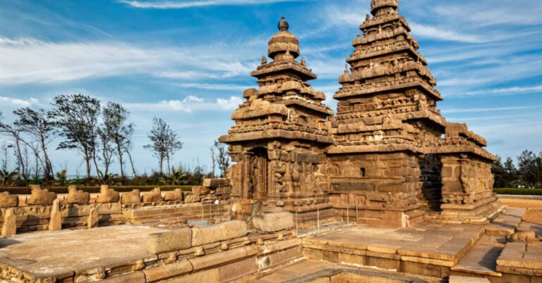 Mahabalipuram underwater temples