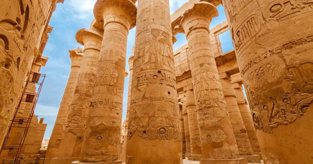 Ancient Egyptian Religion, Secret Temples